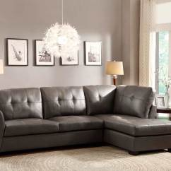 Grey Sofas Leather Sofa Bed Slide Out Sectional In Eco He968 Sectionals