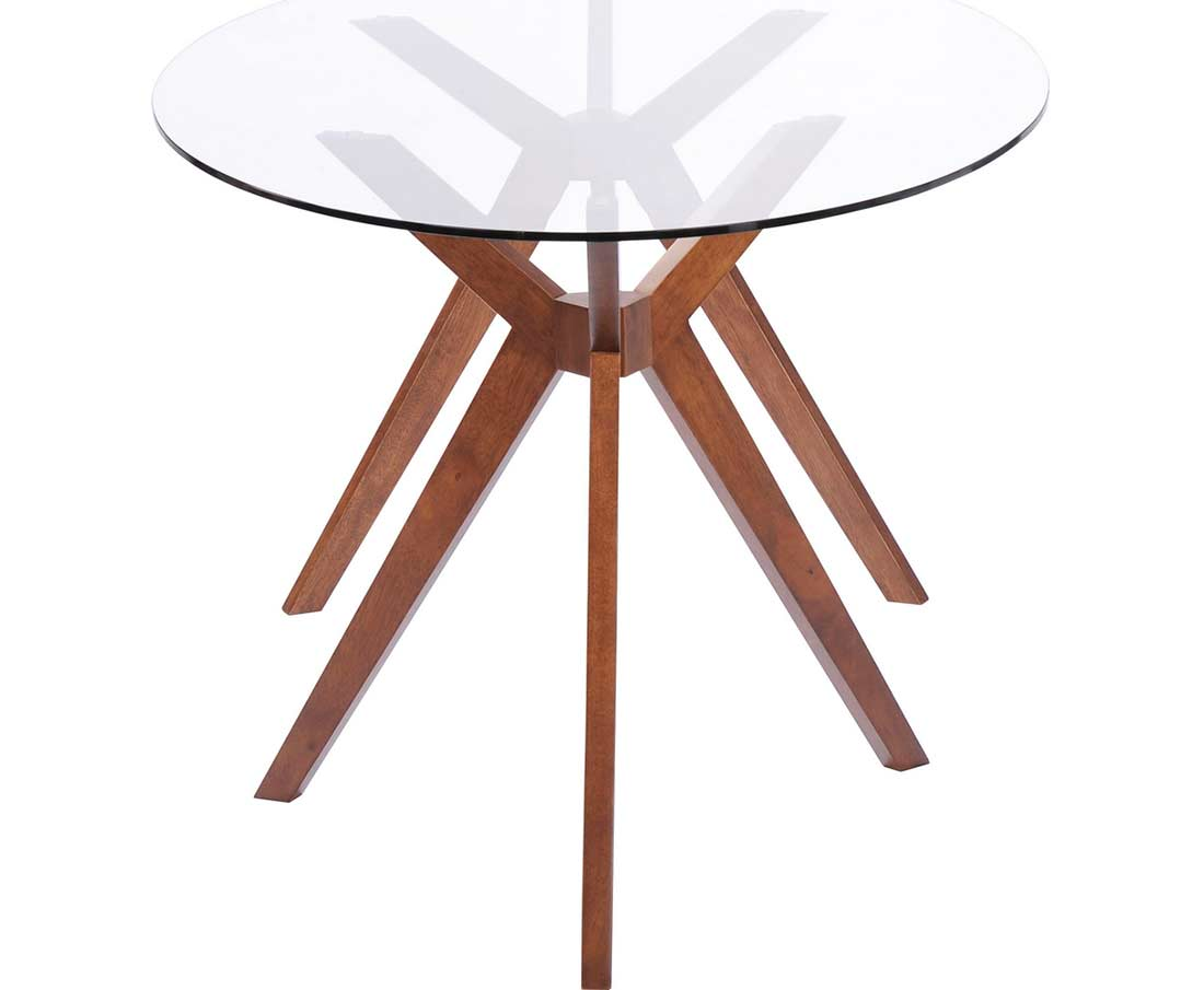 Oval Glass Dining Table Z090