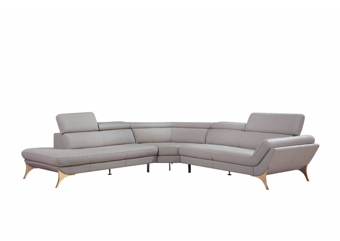 grey leather sectional sofa with recliners gray brown furniture sofas