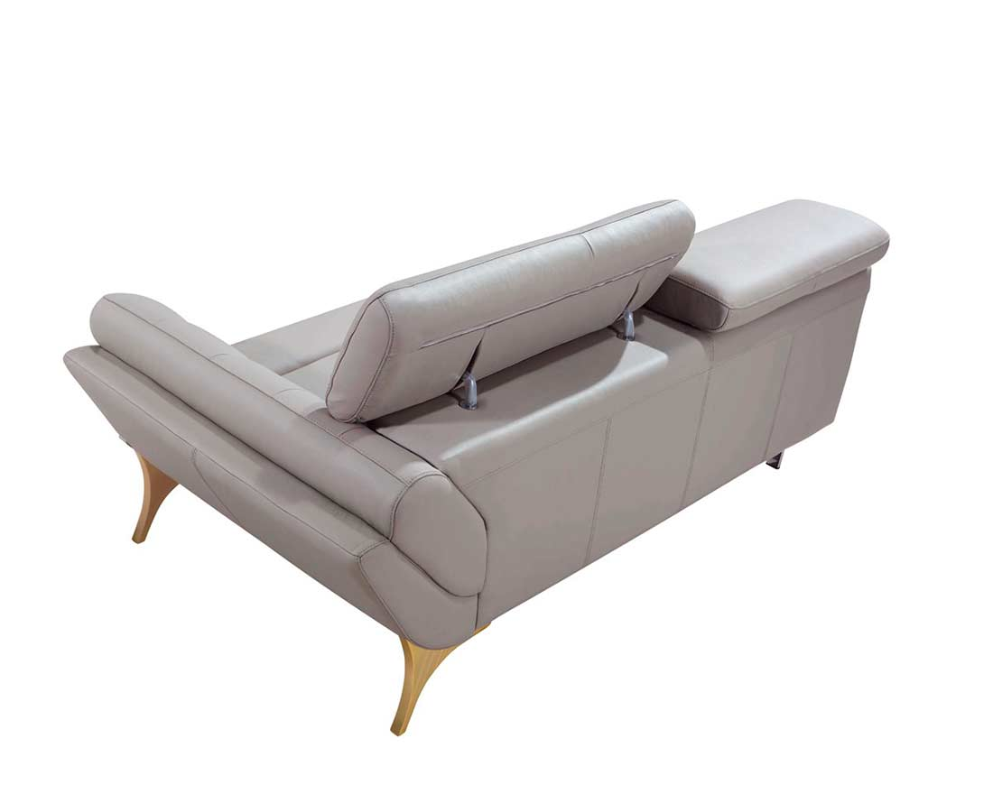 grey leather sofas and chairs sofa repair austin texas modern sectional vg41 sectionals