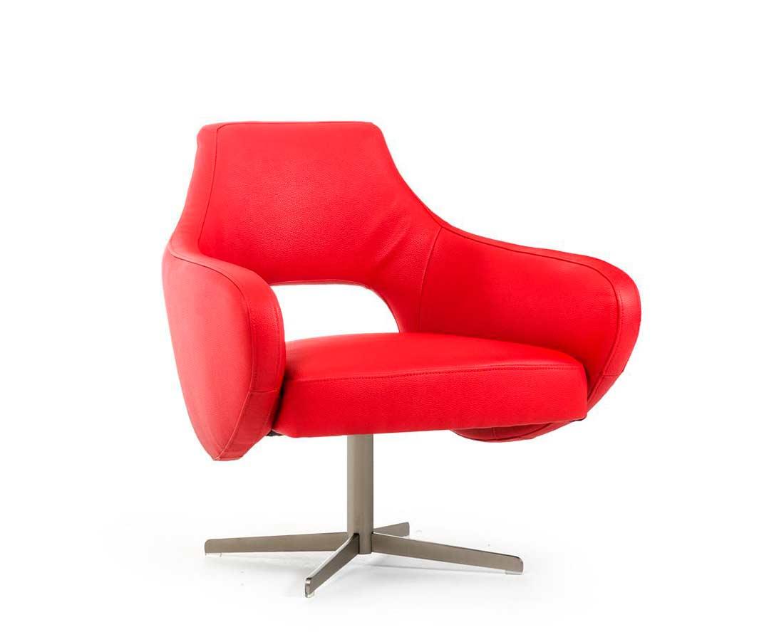 red lounge chair tempur pedic cushion modern vg55 accent seating