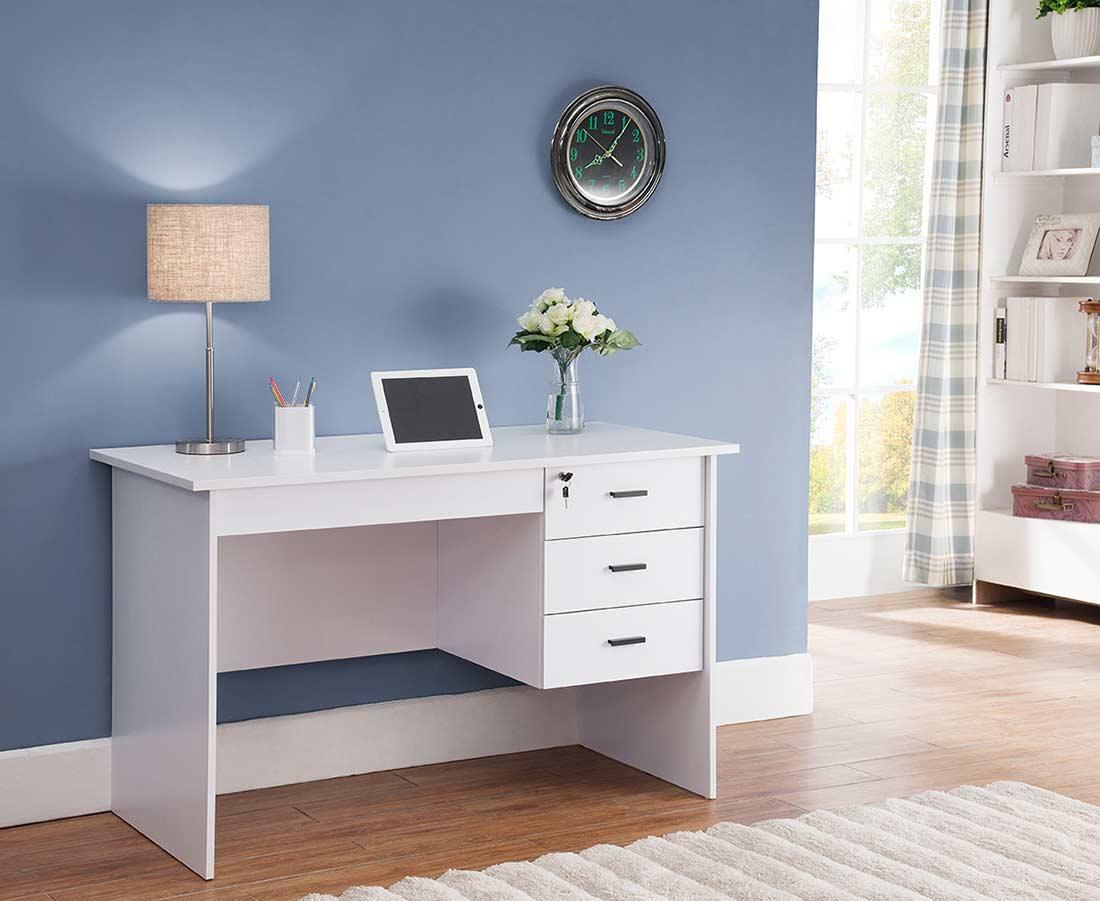 White Office Desk ID178 Desks