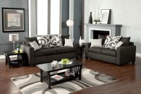 Medium Gray Sofa Set FA3010 | Fabric Sofas