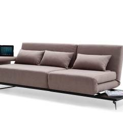 Brown Sectional Sleeper Sofa Stationary Collections Fabric Vg33 Beds