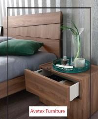 Modern Bed EF Wind   Contemporary Bedroom