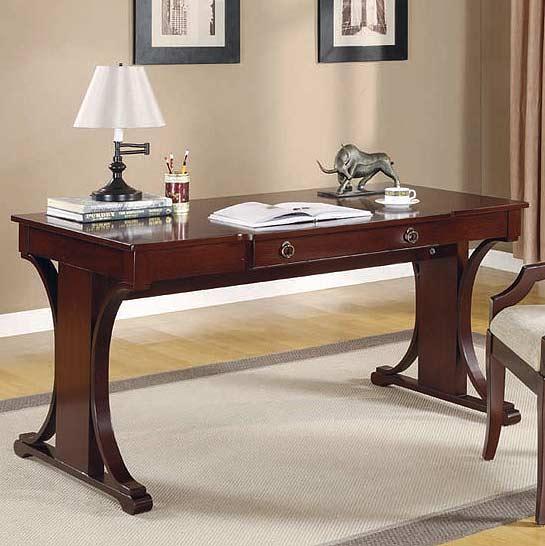Dark Cherry Writing Desk  Desks