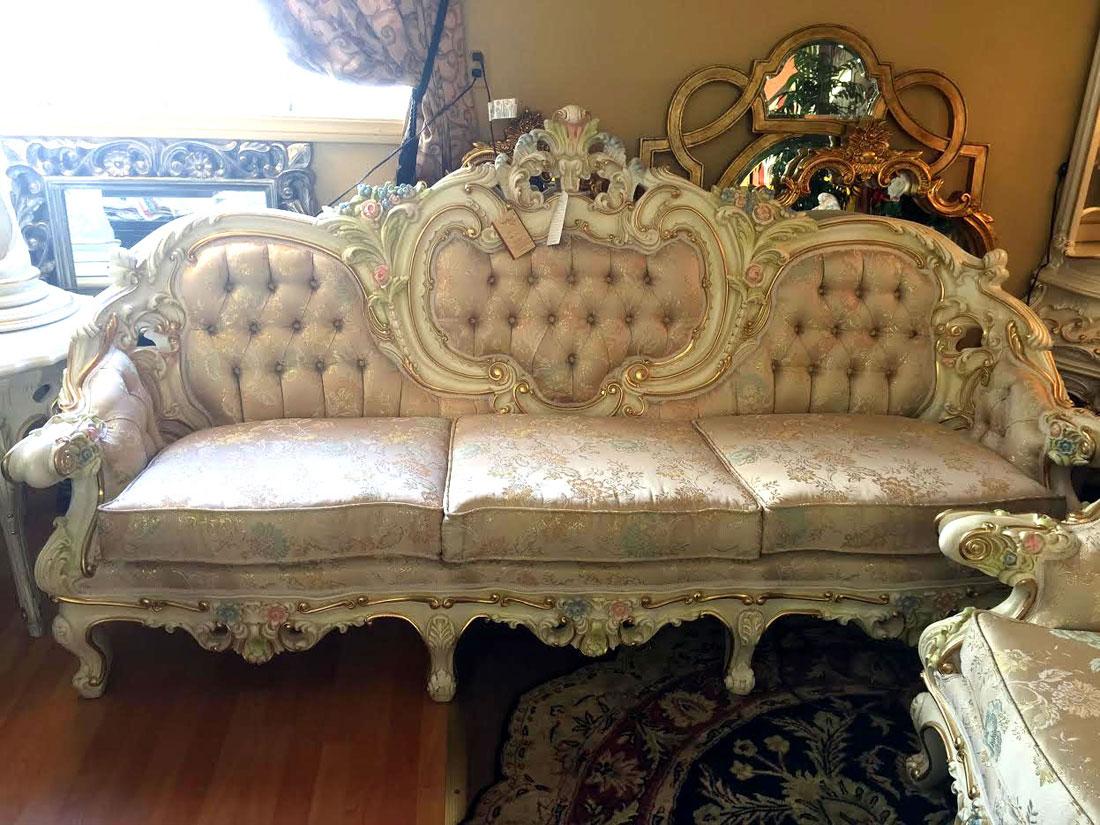 baroque sofa bed ta xbiex provincial victorian model 6381 sofas
