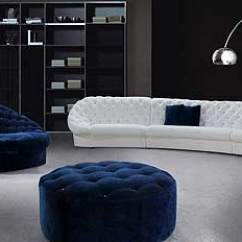 Sectional Sofa Sale Pink Dating Site Uk Leon Blue And White Set With Ottoman | Fabric ...