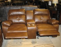 Reclining Leather Sofa and Loveseat Set CO91 | Traditional ...
