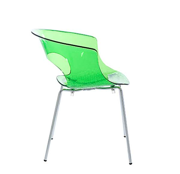 Modern Lime Green Chair EStyle 686  Modern Chairs