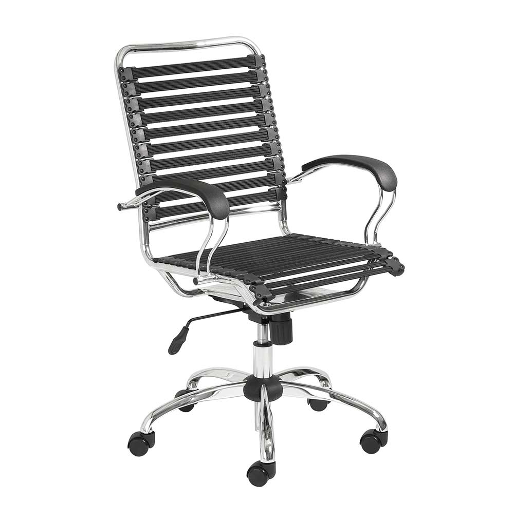 Modern Office Chair Bungie Flat JArm  Office Chairs