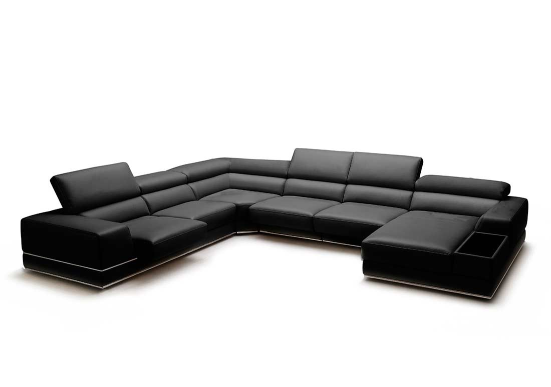 sectional sofas with recliners leather sofa dual recliner full viva sectionals