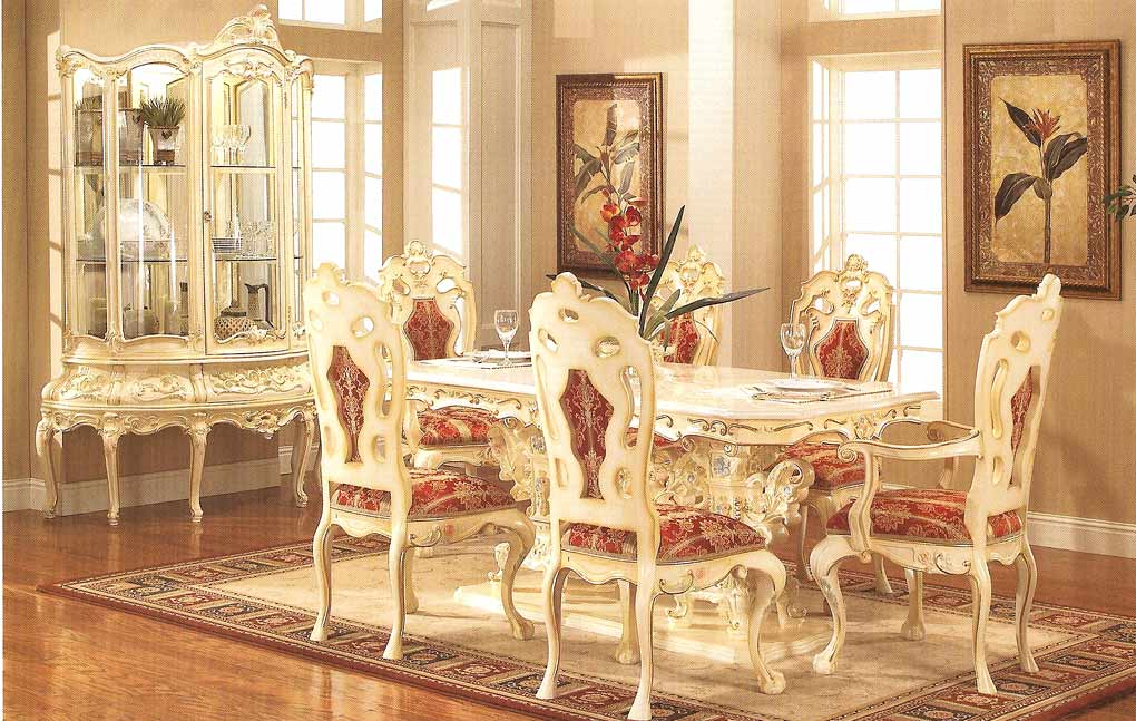 Provincial Dining 755 Baroque Dining Tables