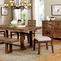 Natural Wood Dining table set FA358 | Modern Dining