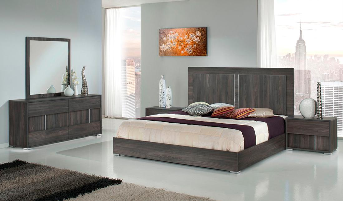 Alle White Gloss Modern Bedroom set  Modern Bedroom Furniture