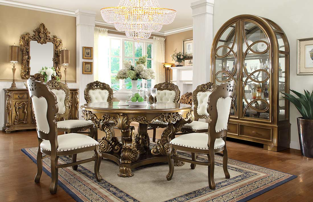 Classic Chic Dining Table HD008  Classic Dining