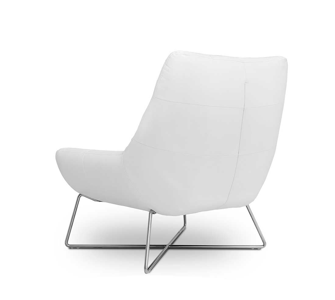 white tufted chair desk modern occasional vg728 accent seating