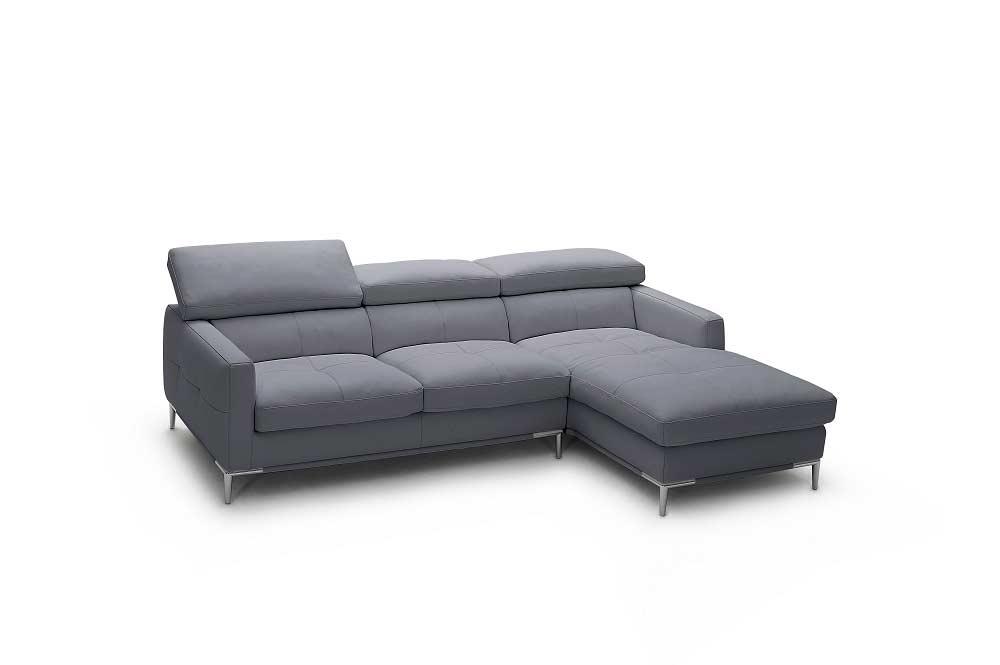 modern white italian leather sectional sofa modular singapore nj106   ...
