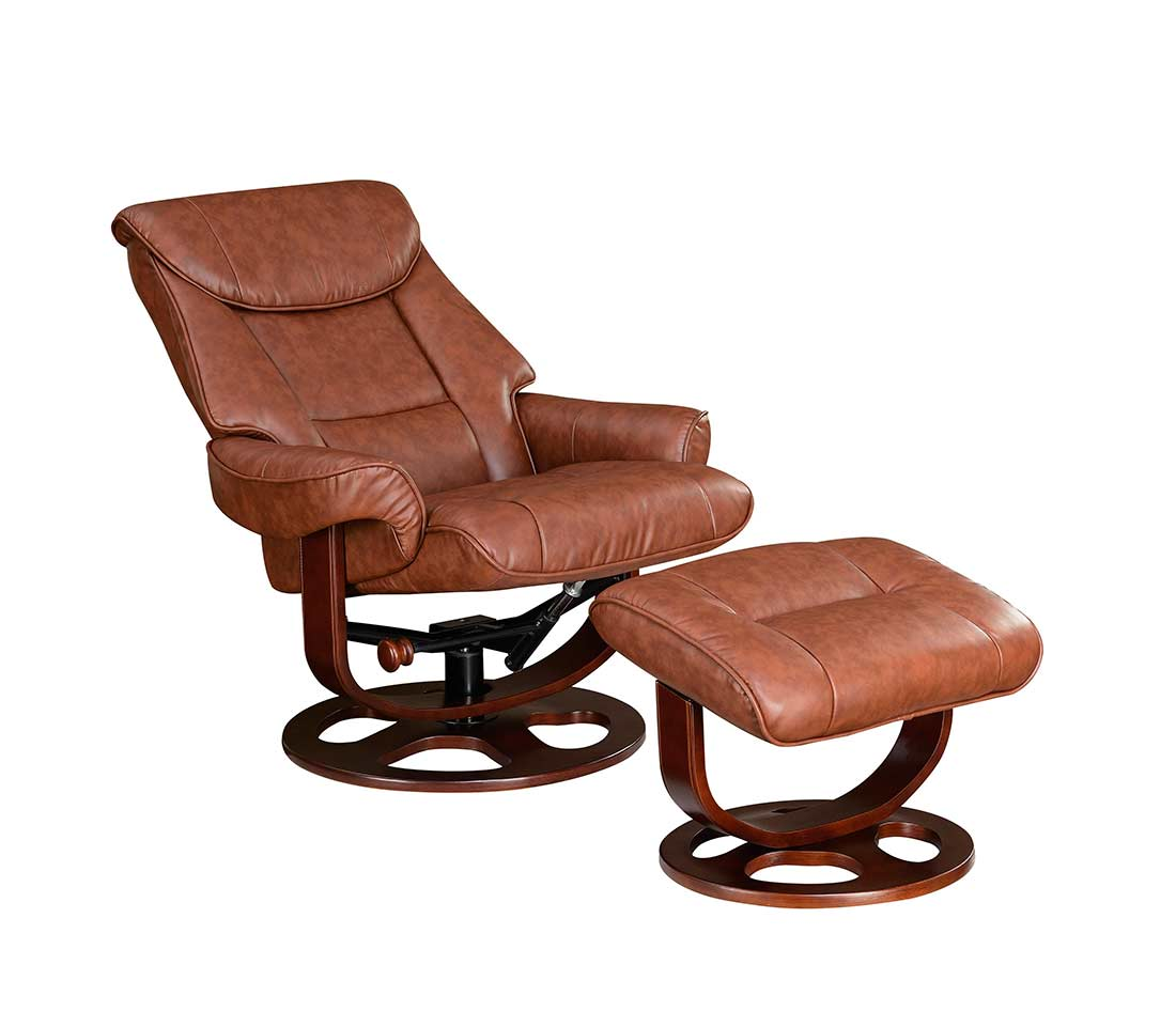 reclining chair with ottoman leather acrylic dining legs recliner co087 recliners