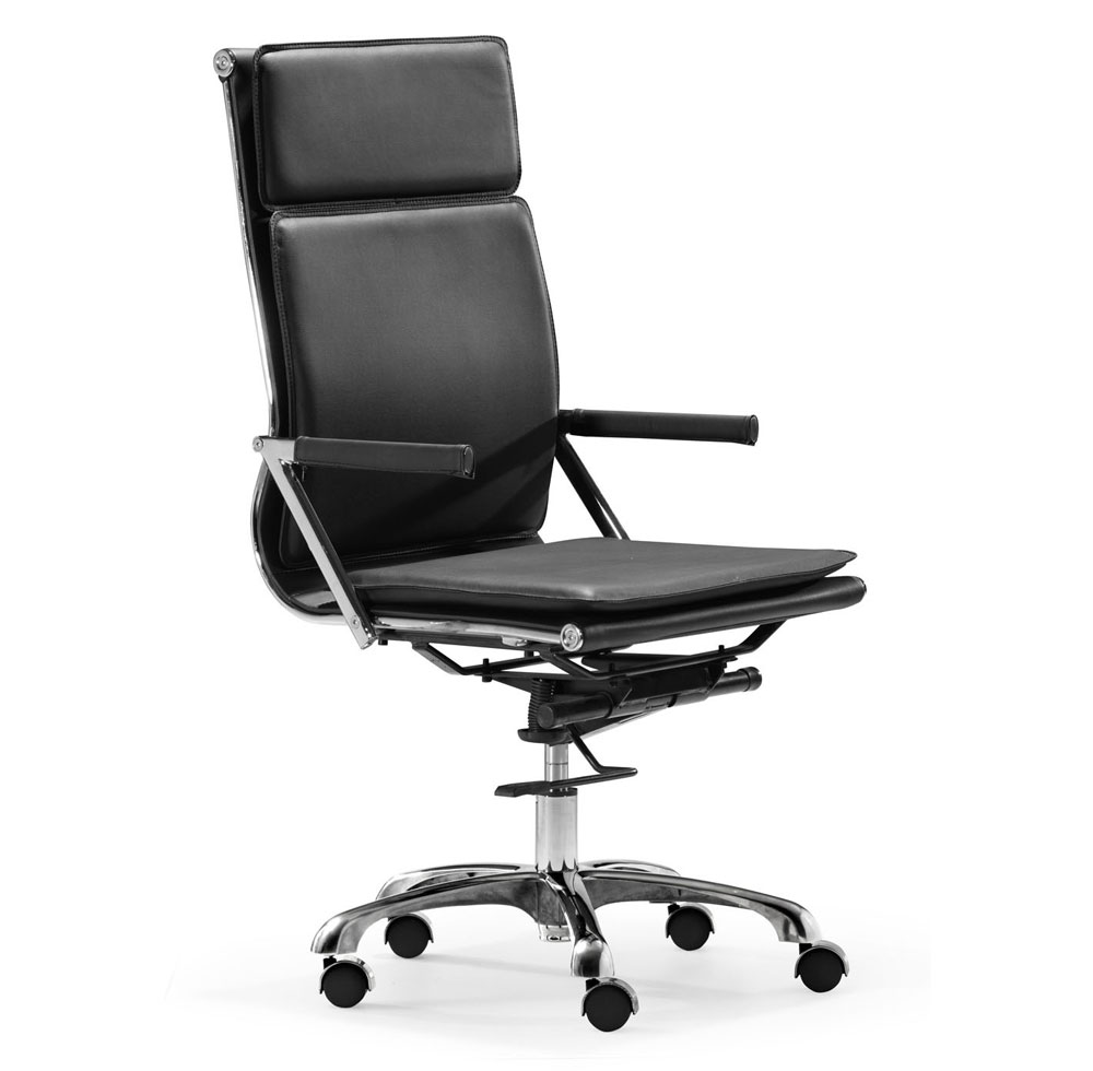 High Back Office Chair in White Z232  Office Chairs
