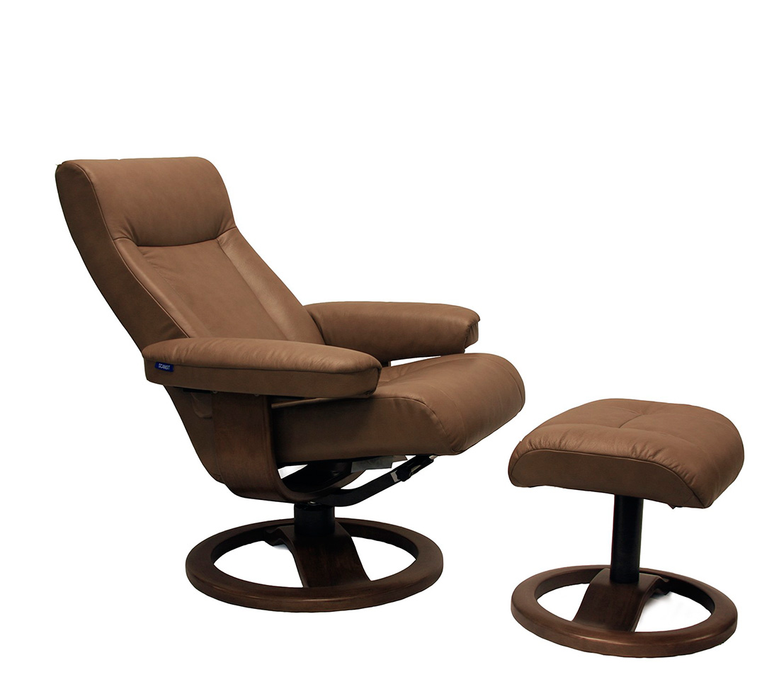 ergonomic chair and ottoman desk for back support fjords manjana large recliner by hjellegjerde
