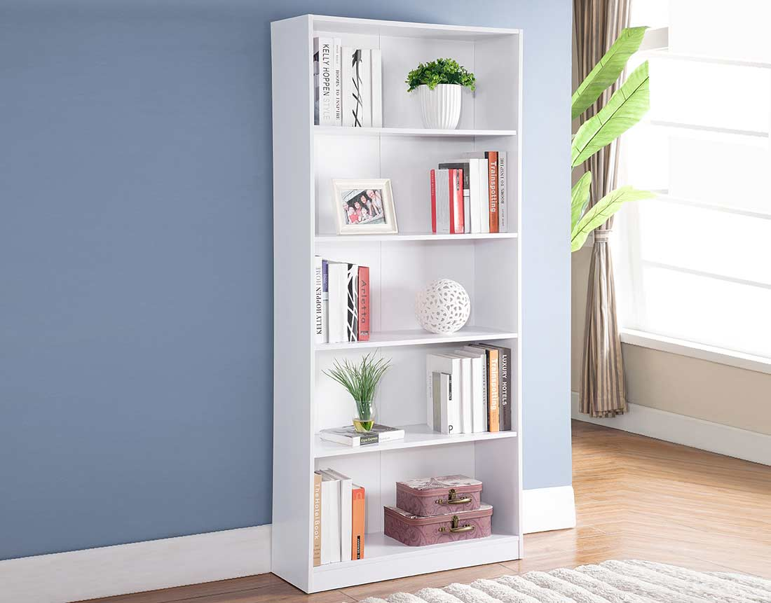 White Bookcase ID198 Office Bookcases And Shelves