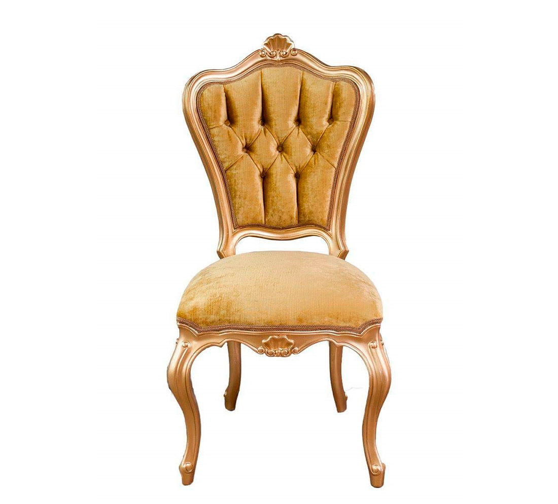 gold velvet chair rocking woodworking plan provincial 766d modern chairs