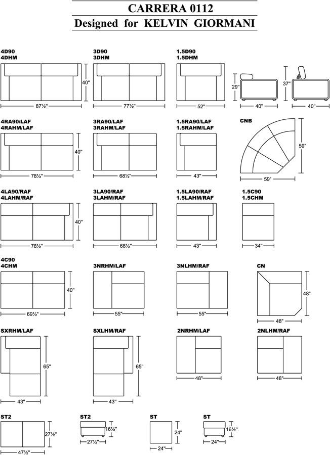 Sectional sofa configurations infosofaco for Sectional sofa configurations