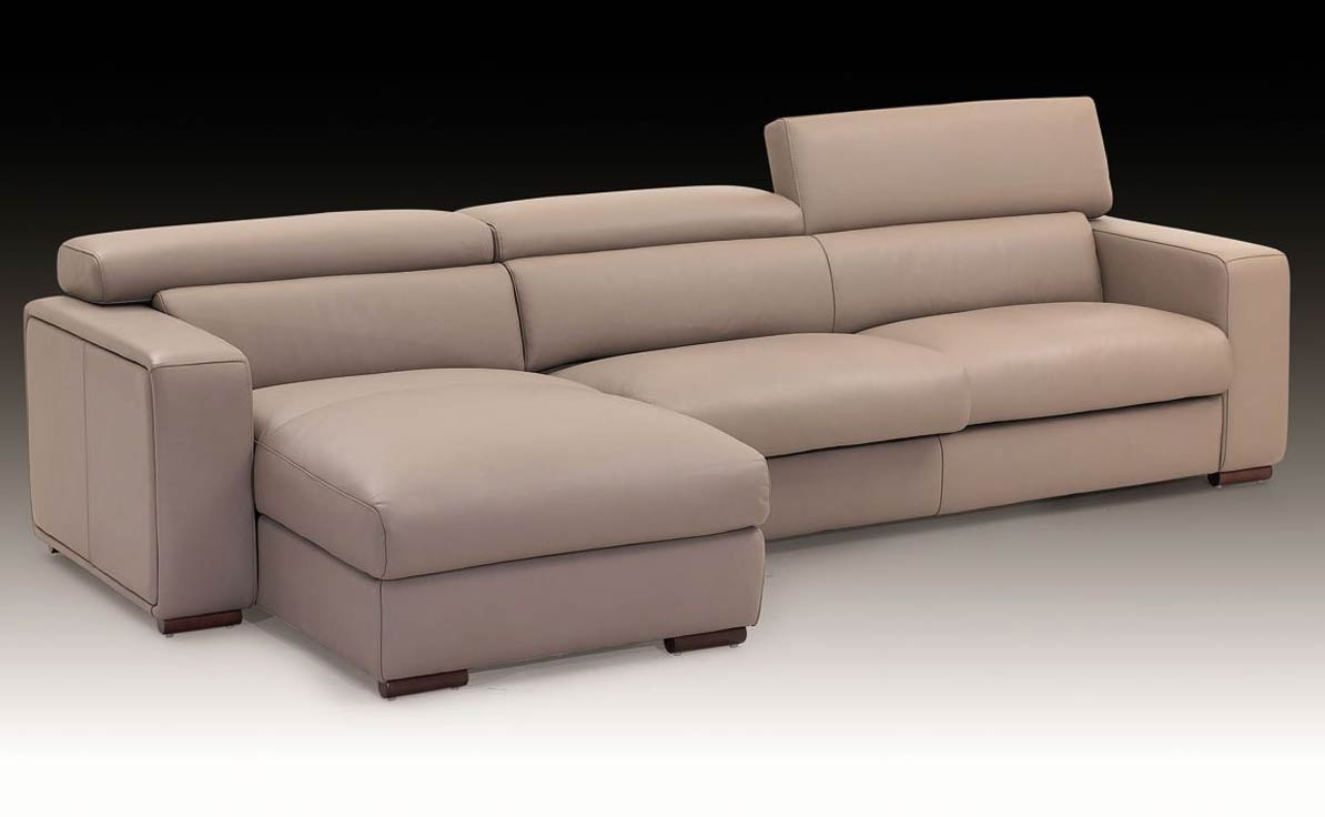 Carrera Italian Leather Sectional Sofa  Leather Sectionals