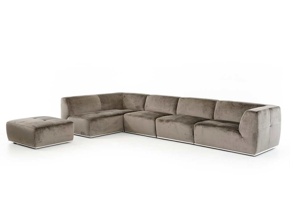 contemporary grey sofa bed high end beds australia fabric sectional vg389