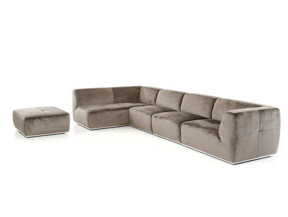 contemporary fabric sofas 72 inch wood grey sectional sofa vg389