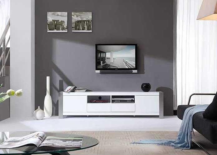 Modern White TV Stand BM01 TV Stands