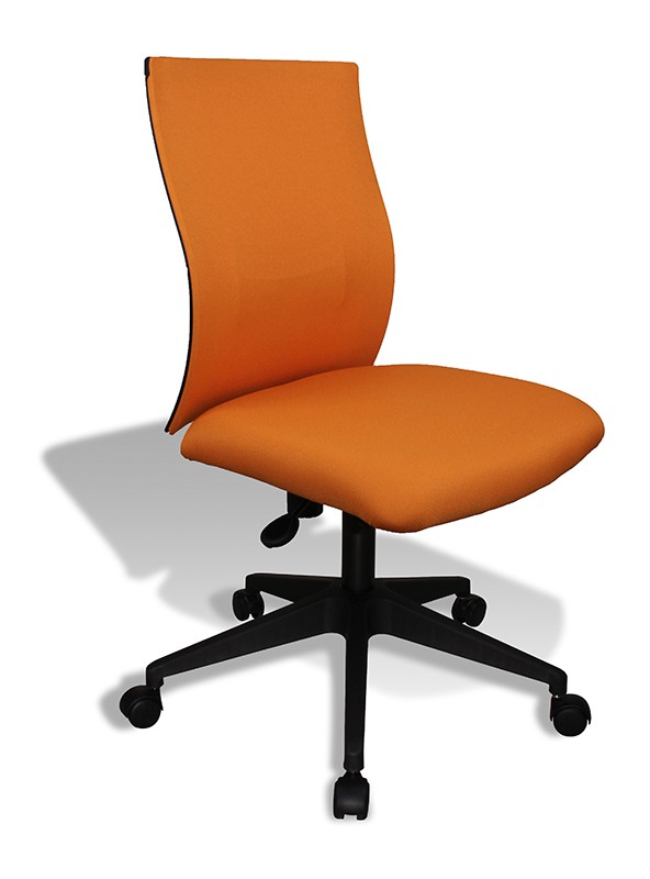 orange office chair high minnie mouse modern kaja by jesper chairs