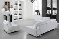 White Modern Sofa set VG-74 | Leather Sofas