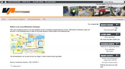 Moodle Vanderlande Industries