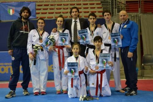 Avezzano informa  Coppa Italia 2015 trionfa la squadra abruzzese di Taekwondo con 3 argenti e