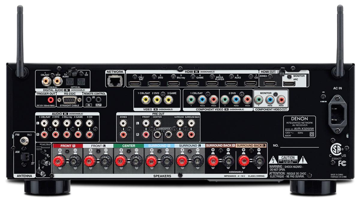 Buy Denon AVRX3200W 72 Channel 4K Ultra HD AV Receiver