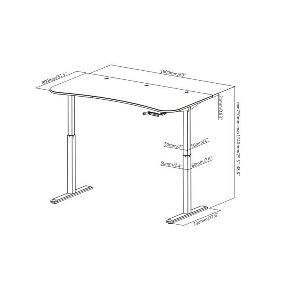 Boost FS-MC63 Floor Standing Manual Height Adjustable