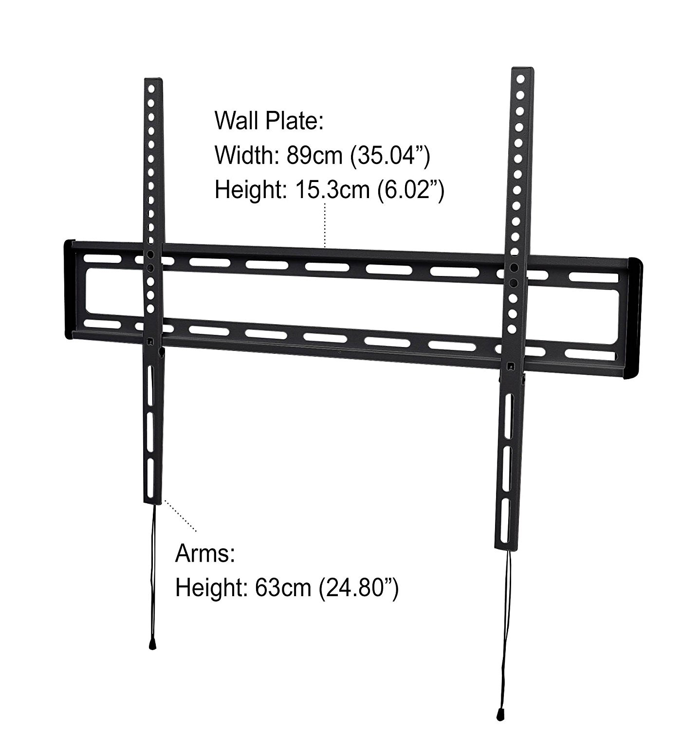 iQ Low-Profile Flat Wall Mount for 47