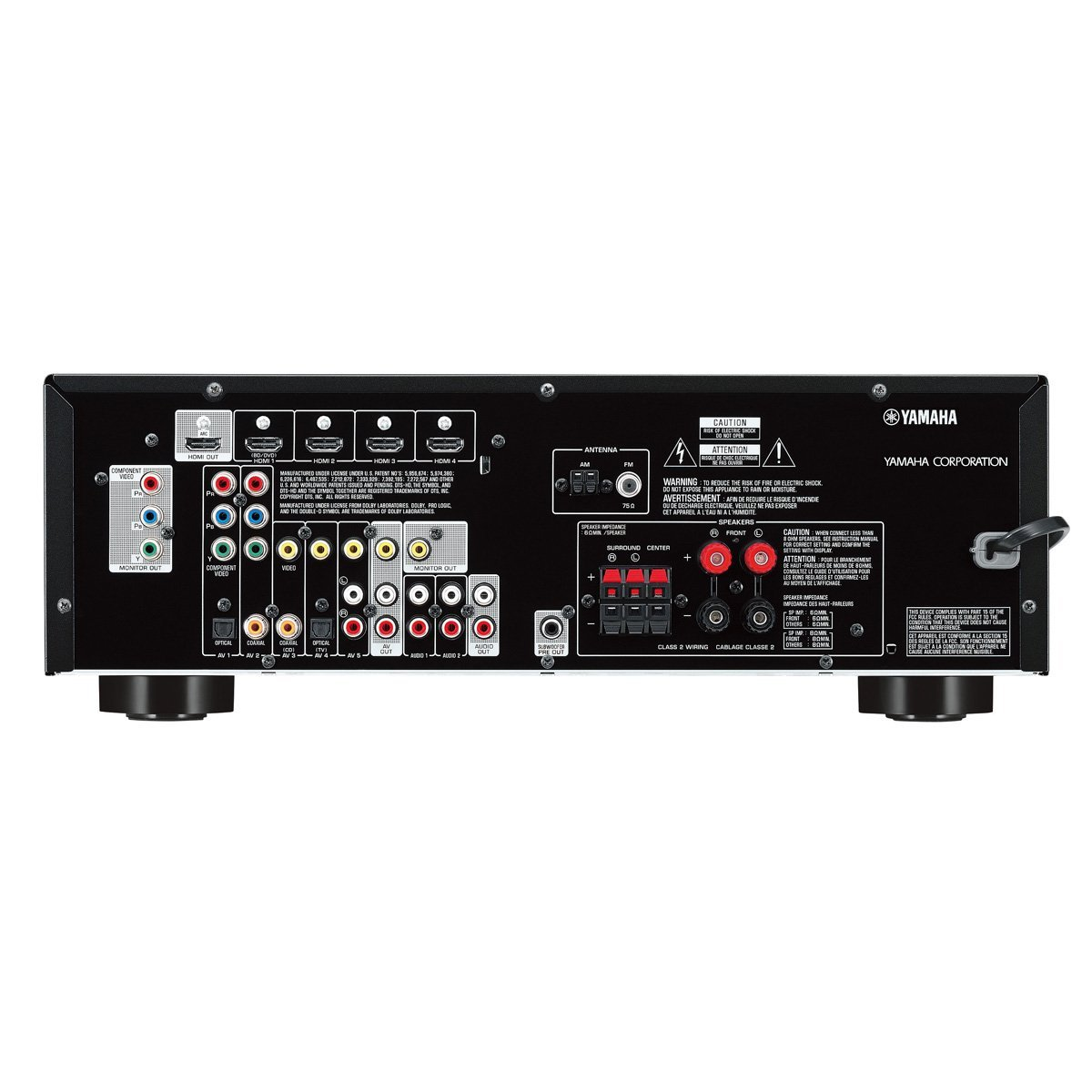 Buy Yamaha HTR3066 51 Channel AV Receiver with Auto