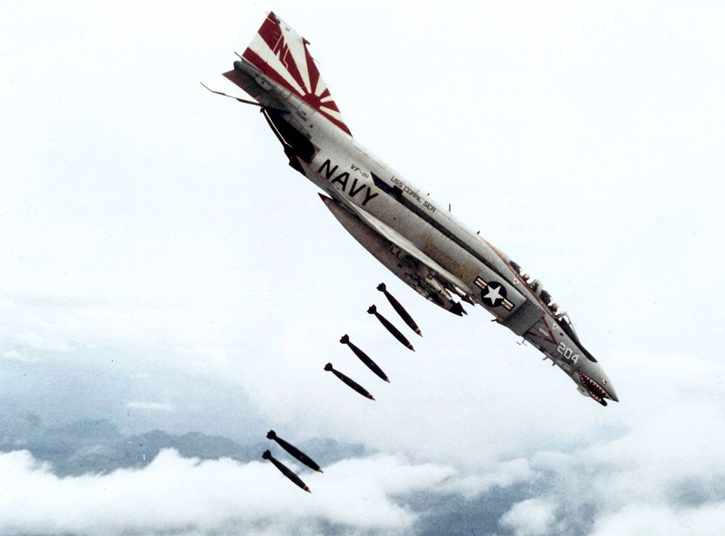 The F-4 Phantom Was A Big, Fast, Heavy and Popular Fighter ...
