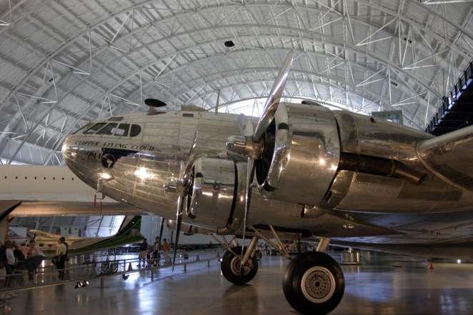 Photo: Boeing Model 307, now preserved at Udvar-Hazy Smithsonian