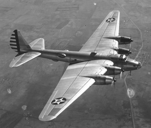 Boeing XB-15 Prototype long-range bomber