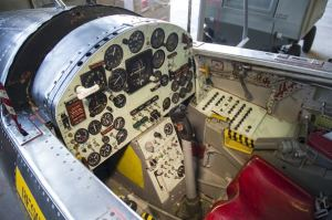 The X-15 cockpit was cramped but functional.