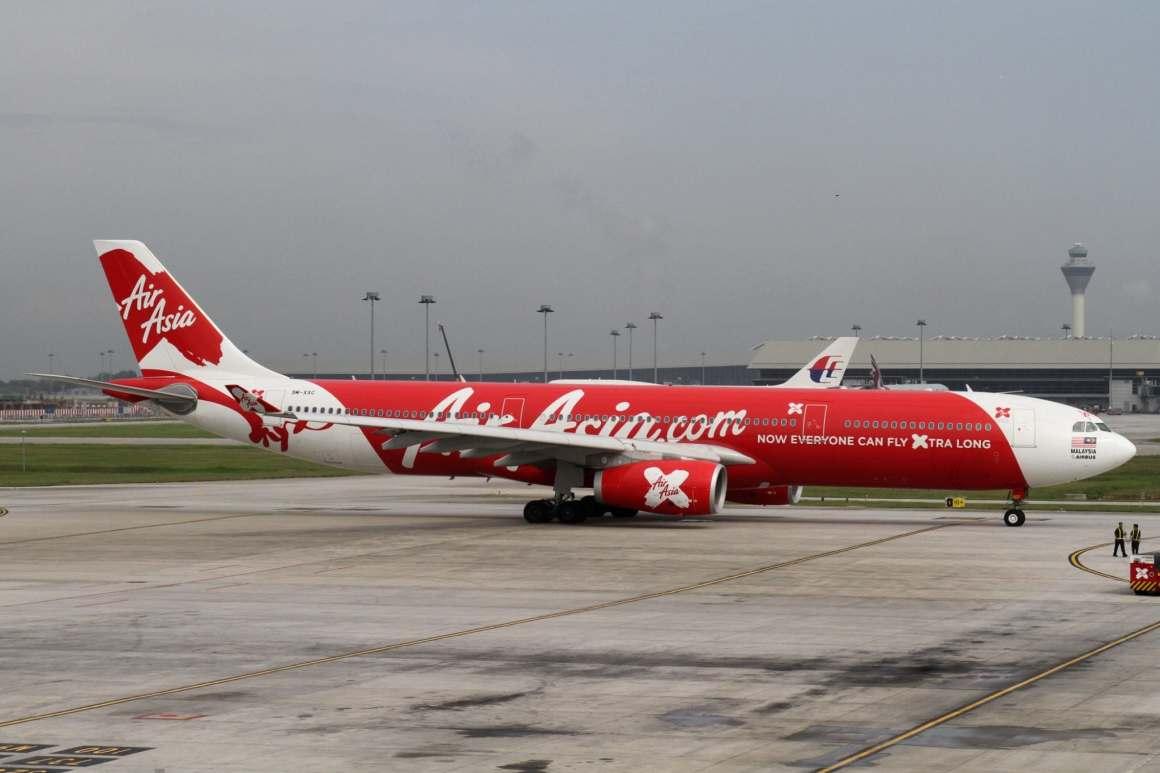 Air Asia X Airbus A330 (Photo by Kentaro Iemoto)