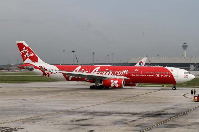 Air Asia X Airbus A330 (Photo by Kentaro Iemoto)