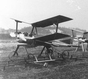 The Kettering Bug during early testing