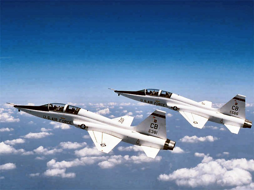 The T-38: The Air Force's Advanced Jet Trainer since 1961. (USAF Photo)
