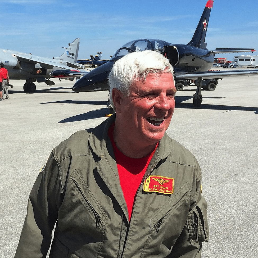 This Former Marine Harrier Pilot Missed Flying The Jet, So He Bought Some