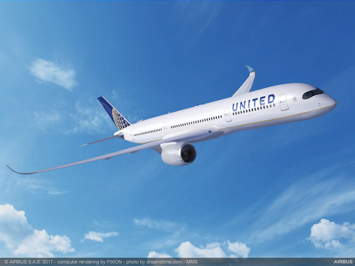 United Firms Up Boeing 777-200 replacement Plan With Airbus A350-900